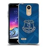Head Case Designs Licenciado Oficialmente Everton Football Club Casa Kit 2021/22 Carcasa de Gel de Silicona Compatible con LG K8 / K9 (2018)