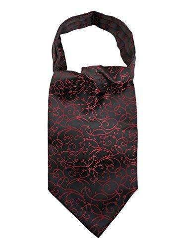 WANYING Heren stropdas sjaal Ascotdas sjaal cravat ties eenvoudig chic voor Gentleman