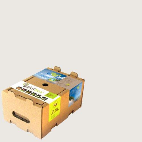 Paintbox 2213L - Pittura per interni a base di gesso naturale, 2,5 l, bianco