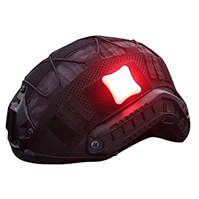 H World Shopping Airsoft Tactical Safety Flashing Survival Signal Light Personal Identification Marker Equipment for Outdoor Sports Red