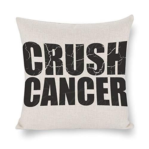 DONL9BAUER Überlebender Brustkrebs-Überlebender Premium-Kissenbezug, Geschenk, dekoratives Kissen, moderner Kissenbezug für Innen-Schlafzimmer, Sofa, Wohnzimmer, Auto.