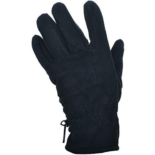 etirel Herren Zabidjane Handschuhe, Schwarz, L