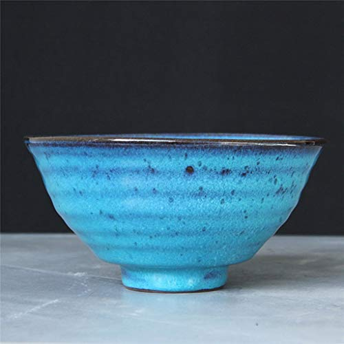 LIXBD Kitchenware/Tableware Keramikschale Obst- und Gemüsesalat Tablett Nudelsteak Westerngeschirr Geschirr Lebensmittelutensilien Patina 18x9cm Schale