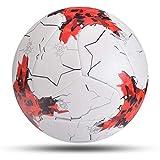 Partido más Nuevo Match Balón de fútbol Tamaño estándar 5 Balón de fútbol Material PU Deportes League Training Balls Futbol Futebol (Color : Colorful Size 5)
