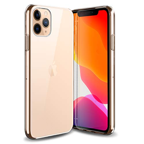 Olixar voor iPhone 11 Pro Max Clear Case - Slim Gel TPU - Ultra Thin - Beschermhoes - Flexibel - Transparant - Draadloos opladen Compatibel - Helder