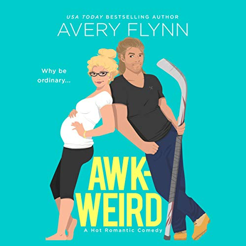 AWK-WEIRD audiobook cover art