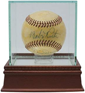 Babe Ruth Dizzy Dean Autographed Signed Official American League Baseball PSA/DNA Loa