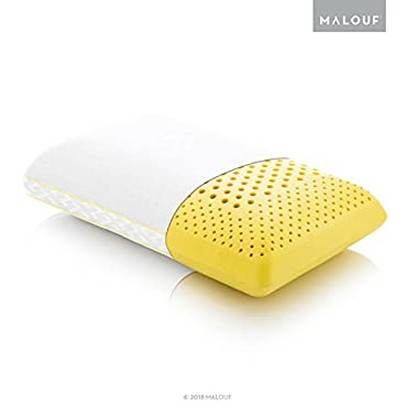 Z Zoned ACTIVEDOUGH Pillow Infused with All Natural Chamomile Oil - Feels Like Blend of Latex and Memory Foam - Mid Loft - King