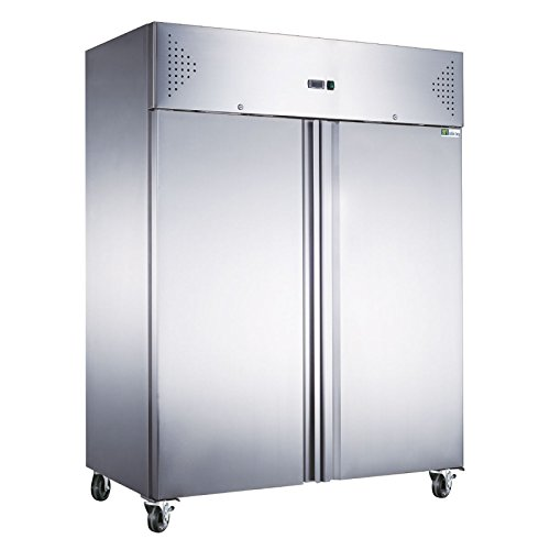 Armoire froide négative inox 1300 litres