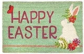 Easter Bunny Coir Doormat Happy Easter Doormat