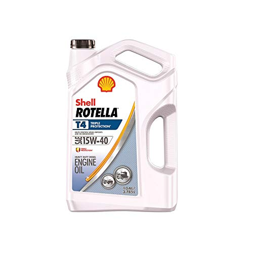 Price comparison product image Shell Motor Oil Rotella T Heavy Duty Sae 15w-40 Gal.