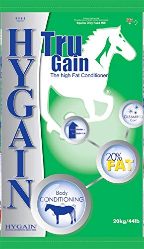 Hygain TRU GAIN - High Fat Conditioner - Rice Bran Oil Pellet with Vitamin E and Selenium