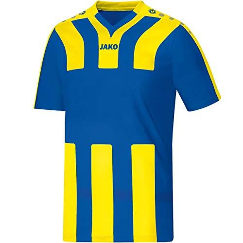 JAKO Santos KA–Camiseta de fútbol Camiseta, Infantil, Trikot Santos KA, Royal/Citro, 164