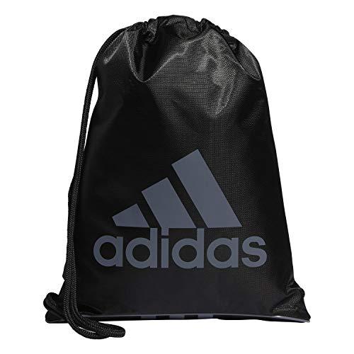 adidas Unisex Burst Sackpack, Black/Onix, ONE SIZE