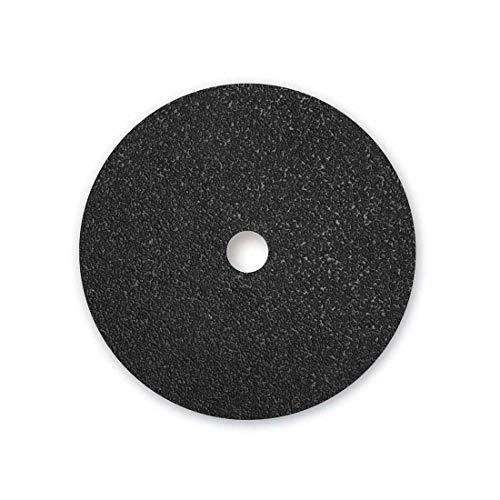 MENZER Black Dischi abrasivi doppi, 406 mm, a doppia pagina, Grana 36, p. Monospazzole (5 Pz.)