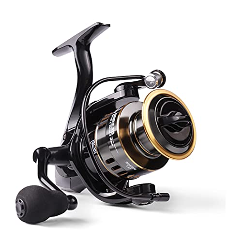 Carrete de Pesca,Carretes giratorios,Carrete de Pesca de Alta Velocidad,Relación de Transmisión Ultraligera de 5.2: ,Izquierda/Derecha Intercambiable Alta Pesca Spinning Carrete