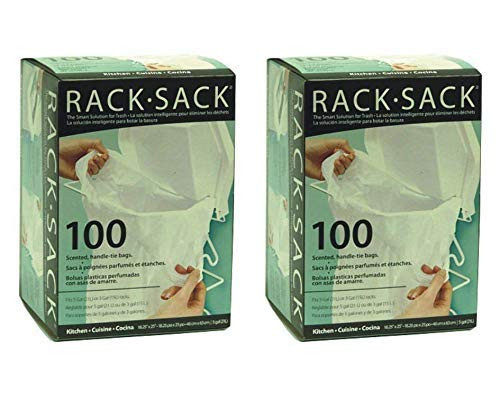Rack Sack Bags - Kitchen Refill 100 Count (2 Pack)