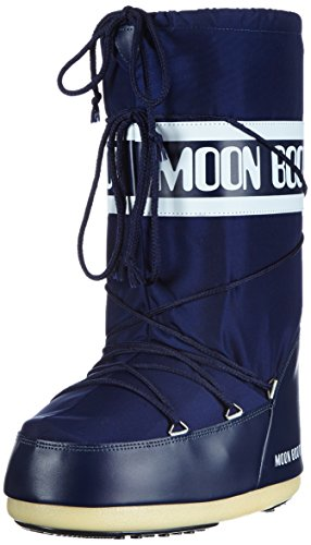 Moon Boot Nylon, Boots mixte adulte - Bleu (Blu), 42-44 EU