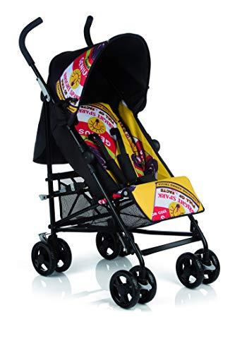 Be Cool Chic Silla Ligera Plegado Tipo Paraguas, Respaldo Reclinable 4 Posiciones, Uso desde los 6 Meses, Color Pop