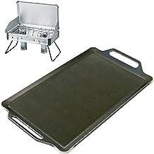 ユニフレーム ツインバーナー US-1900 対応 グリルプレート 板厚4.5mm