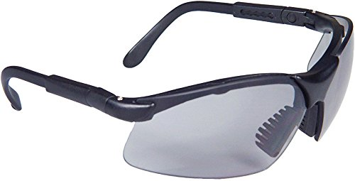 Radians Revelation Protective Shooting Glasses (Dark Smoke Lens/Black Frame)