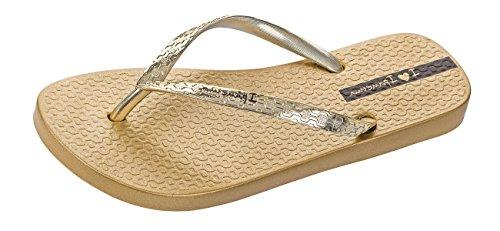 Ipanema Glam Frauen Flip-Flops/Sandalen-Gold-39