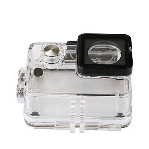 Rollei Unterwassergehäuse für Rollei Actioncam 530 / 630 - wasserdicht für Tauchtiefen bis zu 40 Meter - Transparent