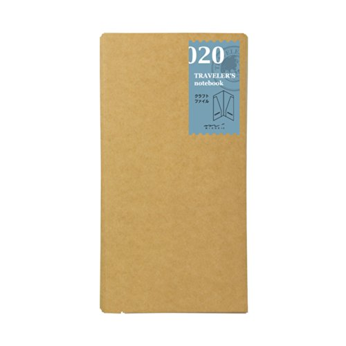 Midori Traveler's Notebook Refill (020) Craft File by Midori