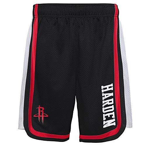 OuterStuff NBA Hose Short Houston Rockets James Harden #13 Basketball Jersey Player Hooper (XL)