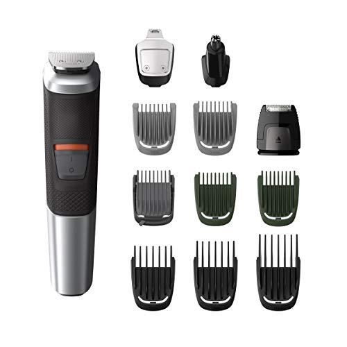 Philips Barbero MG5740/18 Recortadora barba y pelo, 12 en 1, para cara,...