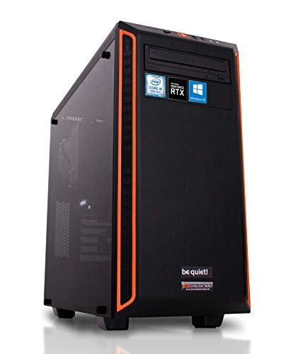 dcl24.de [11410] Gaming PC Pure Base 600 Intel i9-9900KF 8x3.6 GHz - 480GB SSD & 2TB HDD, 32GB DDR4, RTX2080 Super 8GB, WLAN, Windows 10 Pro Spiele Computer Rechner