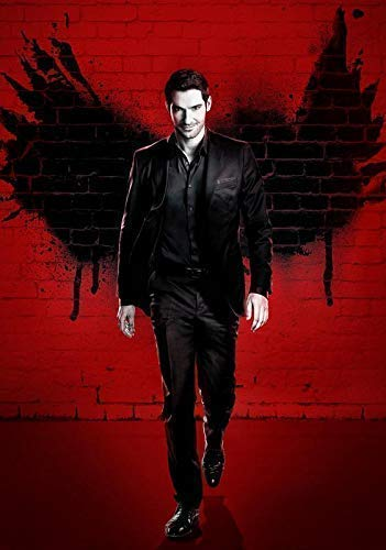 Lucifer Tv Show Foto Poster Serie Guss Tom Ellis Staffel Morningstar 004 (A5-A4-A3) - A3