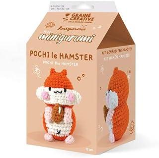 Kit Crochet Amigurumi - Pochi le Hamster