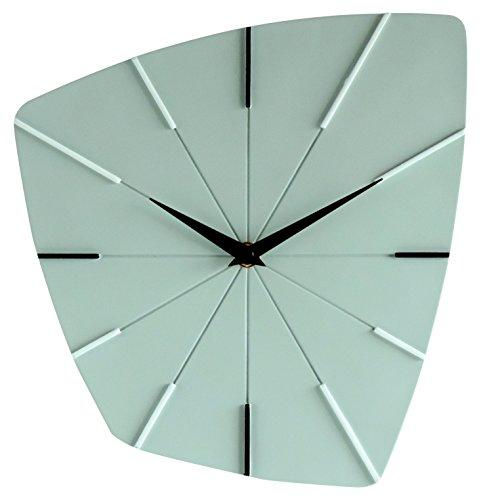 Orium 11993 Horloge Sixties 27cm, Plastique, Vert Clair, 26,3 x 4 x 25 cm