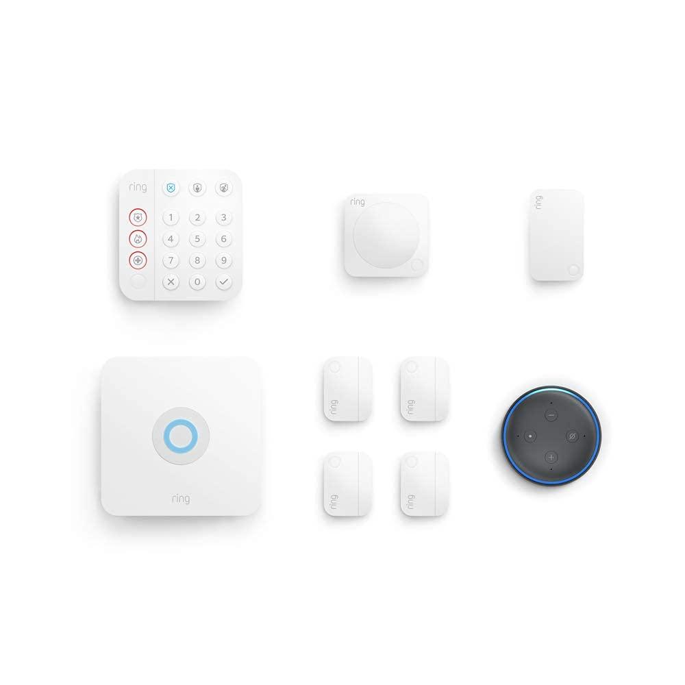 Ring Alarm 8-Piece Kit (2nd Gen) + Echo Dot $200 Coupon