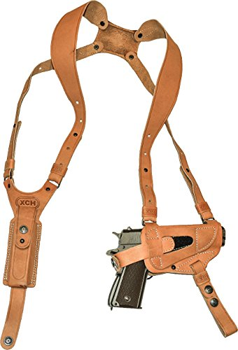 XCH ambidextrous Shoulder Holster for 1911, Sig Sauer...