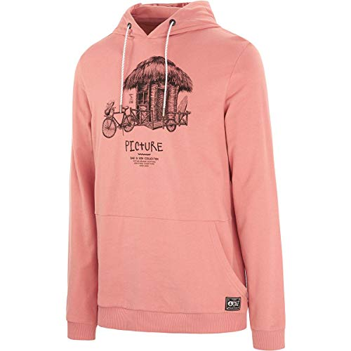 Picture Organic Sweat à Capuche Winton Hoodie Rusty Pink