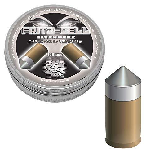 WEILAX 150 Eisenherz 4,5mm Diabolos Fritz-Cell Spitzkopf Luftgewehr Luftpistole
