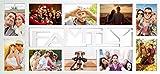 empireposter - Collage Bilderrahmen Family - Kunststoff weiss Multishot - Größe...