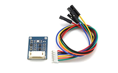 Waveshare BME280 Environmental Sensor, Temperature, Humidity, Barometric Pressure Detection Module I2C/SPI Interface for Weather Forecast, IoT Projects, ect