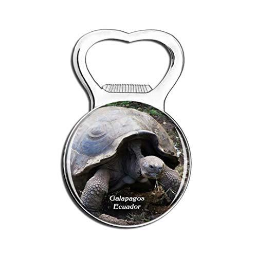Weekino Ecuador Tartaruga Gigante Isole Galapagos Calamità da frigo Apri Bottiglia Birra Viaggio Souvenir Collezione Adesivo Frigorifero Forte