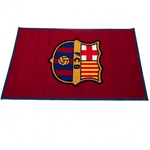 FCB FC Barcelona - Alfombra (Talla Única/Vino)