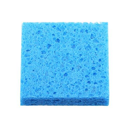 5 x dicke Lötkolben-Reinigungsschwamm, Lötspitzenreiniger, 70 x 70 x 14 mm