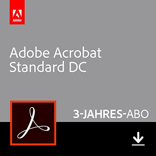 Adobe Acrobat Standard DC | Standard | 3 Jahre | PC | Download