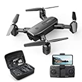 DEERC D30 Drone with Camera 1080P for Adults-Live Video/Manual Focus/110°FOV HD Lens. RC