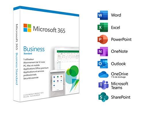 Microsoft 365 Bus Std Retail French Sub