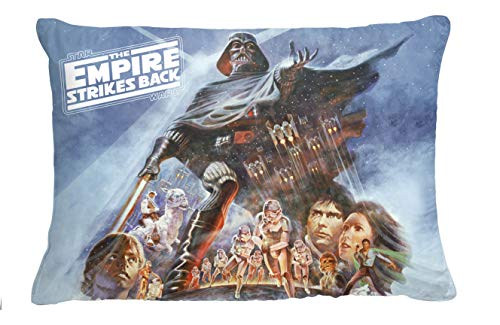 Jay Franco Star Wars The Empire Strikes Back 40th Anniversary Decorative Pillow - Kids Super Soft Dec Pillow - Measures 10 x 14 Inches (Official Star Wars Product)