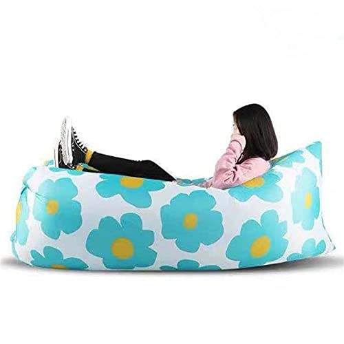 HJF Inflatable Sofa-cool Inflatable Chair To Upgrade Your Camping Accessories Very Suitable For Hiking Equipment Beach Chairs And Music Festivals. L-94 * 27in