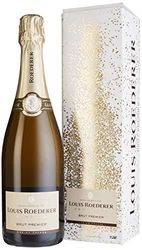 Louis Roederer Champagne Brut Premier in Grafik Geschenkpackung Champagner (1 x 0.75 l)