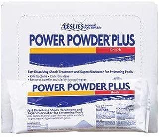 Leslie's Power Powder Shock Superchlorinator for Swimming Pools 1 LB [Pack of 6]